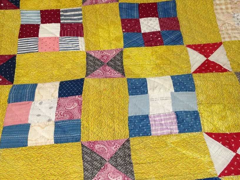 Quilting is a Pennsylvania Dutch Country pastime and hand-crafted quilts are sold throughout the region.