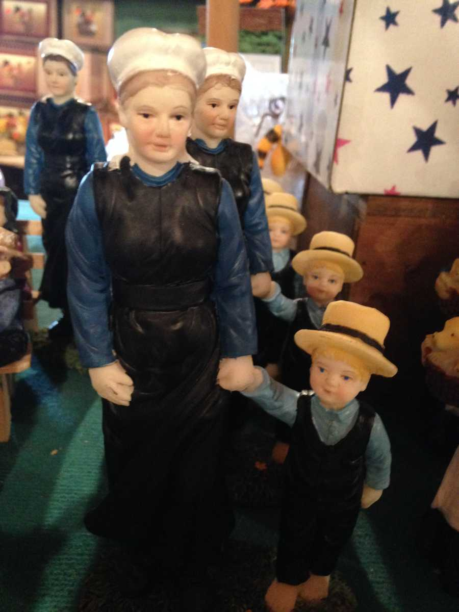 Amish-themed bric-a-brac are a tourist favorite.