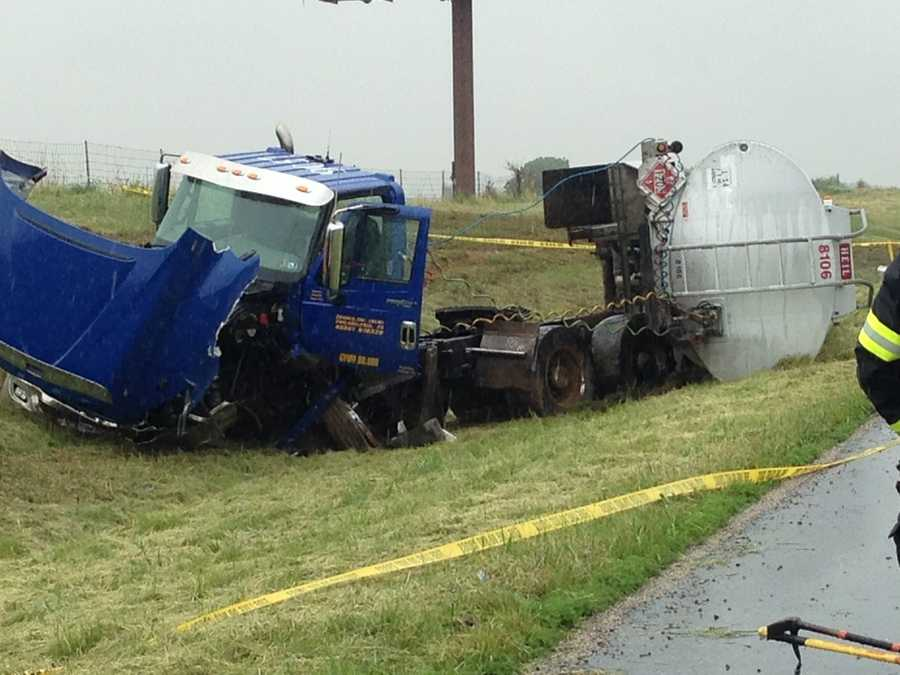 A portion of Rt. 283 in Rapho Twp., Lancaster County was shut down for hours on Thursday following a tractor trailer accident.