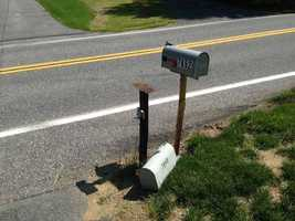 Neighbors said the car was running into mailboxes.
