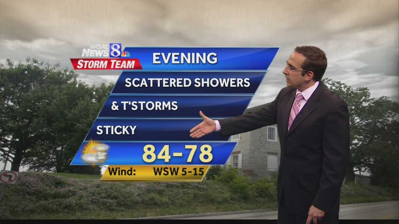 News 8 at 5 WEATHER 6.3.14