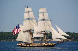 State ship: The USS Niagara, commonly called the US Brig Niagara, is the flagship of Pennsylvania. It was the flagship of Commodore Oliver Hazard Perry and was decisive in defeating the British at the Battle of Lake Erie in September 1813. Its home port is Erie. (Enacted by the General Assembly on May 26, 1988.)