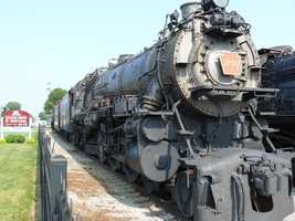 "State locomotive: The PRR K-4. Located at the Railroad Museum of Pennsylvania, outside Strasburg.(From steamlocomotive.com: ""On December 18, 1987, Pennsylvania's governor Robert Casey signed a bill naming the PRR's K-4s the 'Official State Locomotive.' This title is applied equally to both the surviving Class K-4s locomotives, number 1361 and number 3750.)"