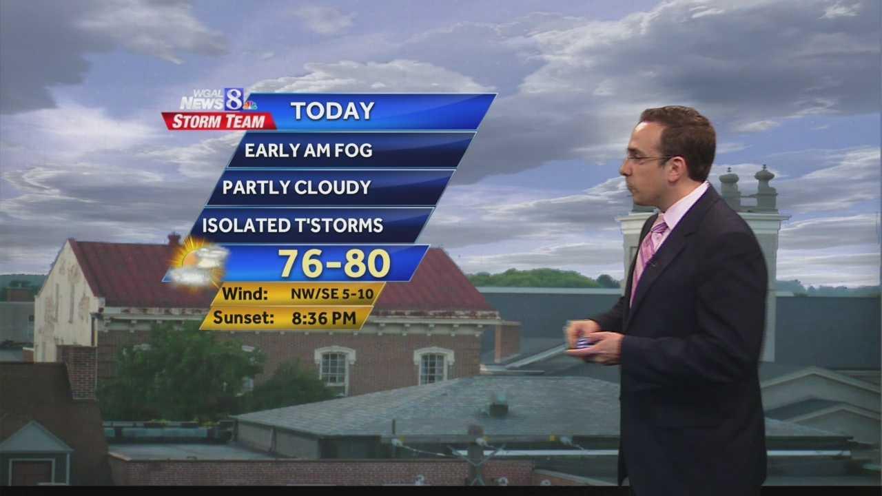 News 8 Today 6.9.14 am forecast