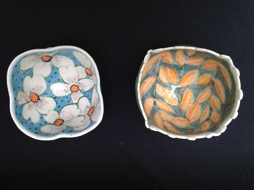 Bennett hasbeen creating ceramic pieces for 50 years. His first design was a candy dish that he gifted to his mother when he was a kid.