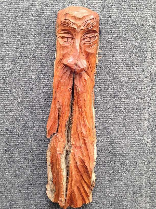 A facial piece by M.D. Bair.
