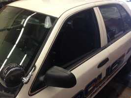 Police in East Pennsboro Township, Cumberland County say a teenager broke into one of their patrol cars on Monday night and stole a shotgun.