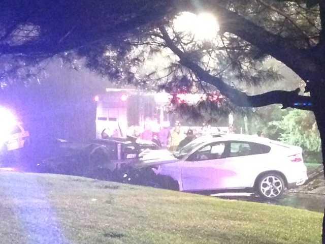 A three-car crash on Lititz Pike in Manheim Township is under investigation.