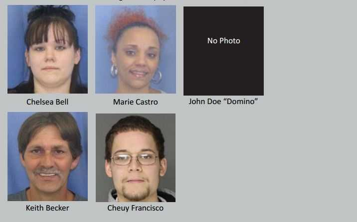 Click here to see a full list of the defendants and the charges against them.