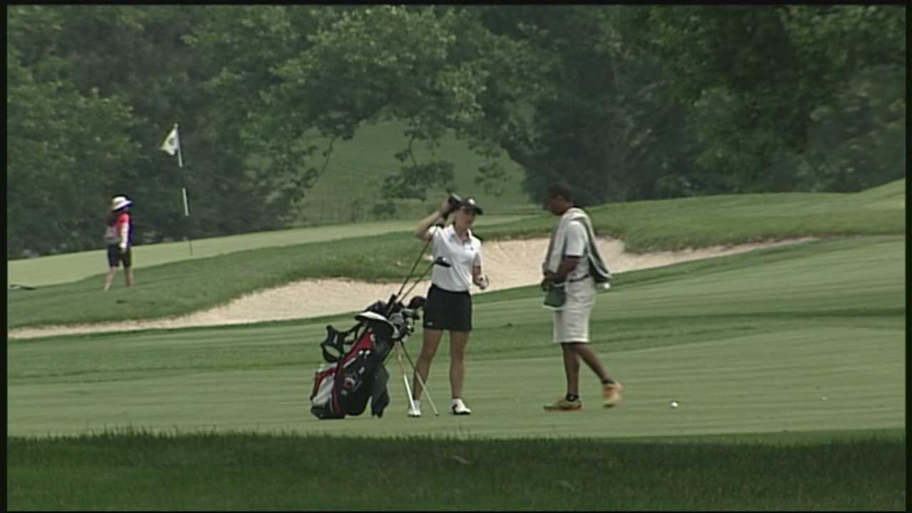 The U.S. Women's Open will be held in Lancaster County next July. News 8 checks in at the historic course where the championship golf will be played.