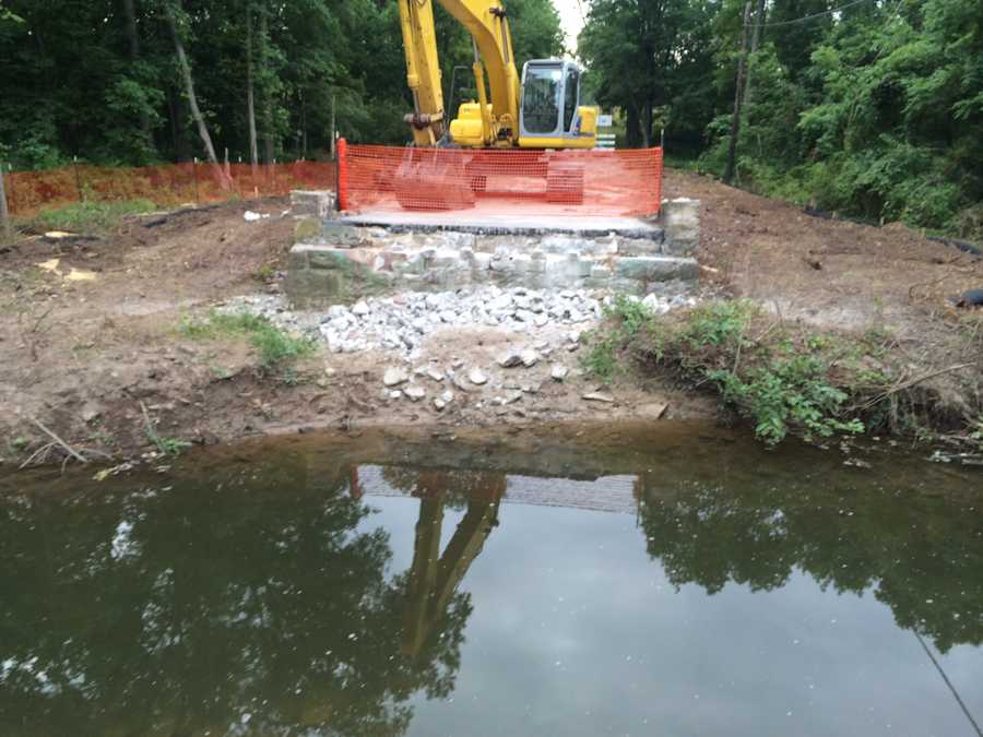 PennDOT has removed a one-lane truss bridge that resided over the Bermudian Creek in Franklin Twp., York County.