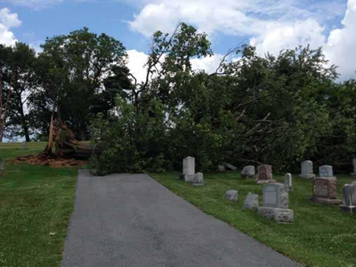 Landisville Mennonite Cemetery, Lancaster County,
