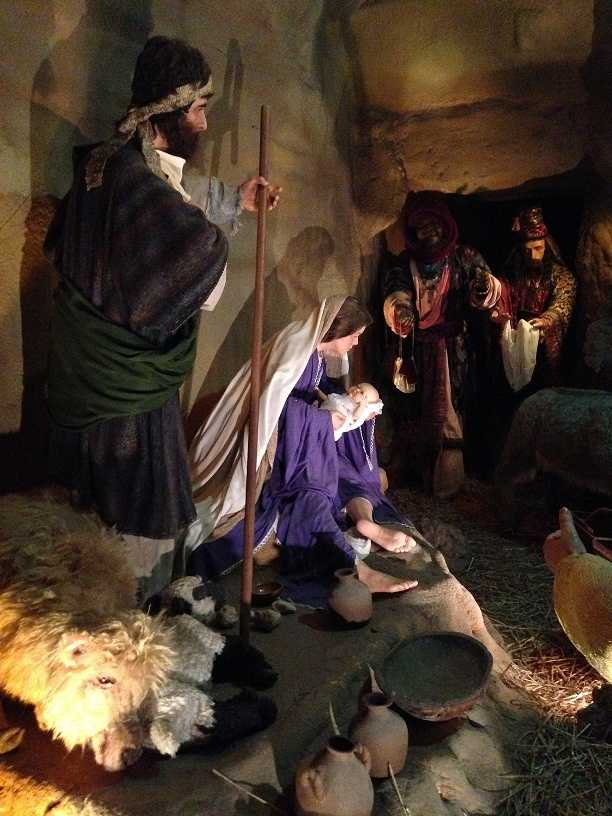 """The final part of the tour features one-of-a-kind nativity scenes from all over the world. The National Christmas Center says their goal is to bring people back to """"what Christmas is all about."""""""