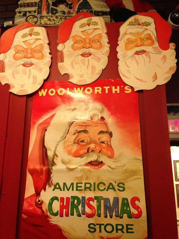 """The Woolworth display at the National Christmas Center features a collection of items that would have been found in """"5 and 10"""" stores over the years."""