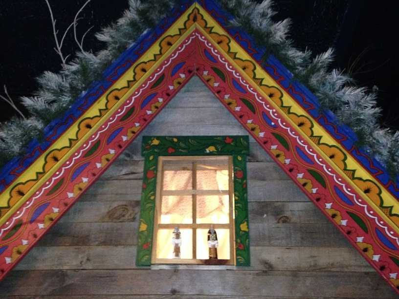 """Visitors can walk through life-size """"Christmas villages"""" and learn about the history of Christmas."""