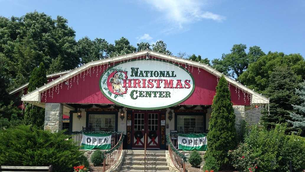 Located in Paradise, Pa., the year-round exhibit features hundreds of Santa's, toys and one-of-a-kind nativity scenes.