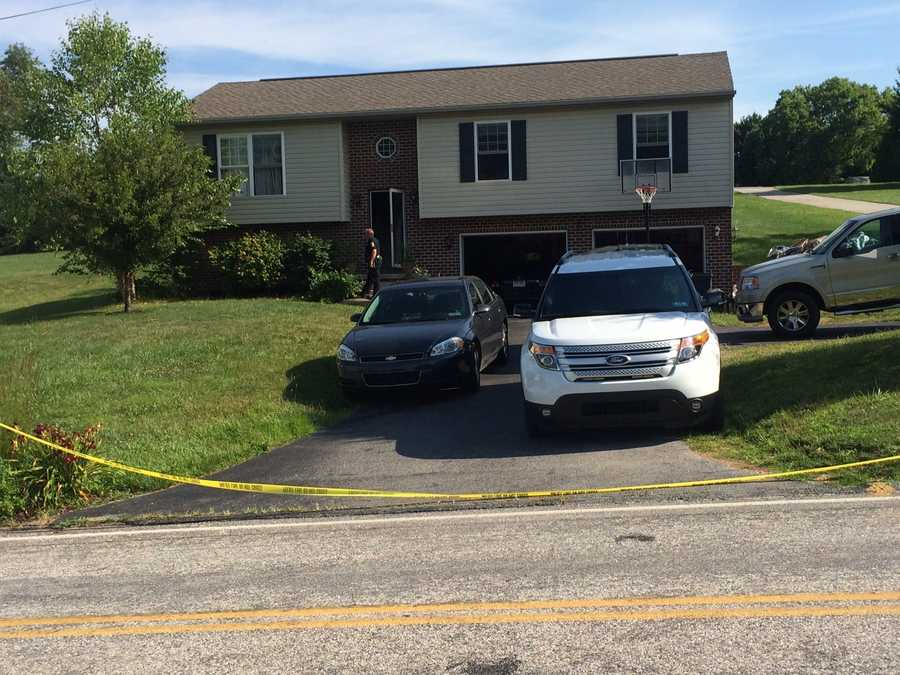 The source of the carbon monoxide appears to be a car that was left running in the garage, according to the York County coroner.