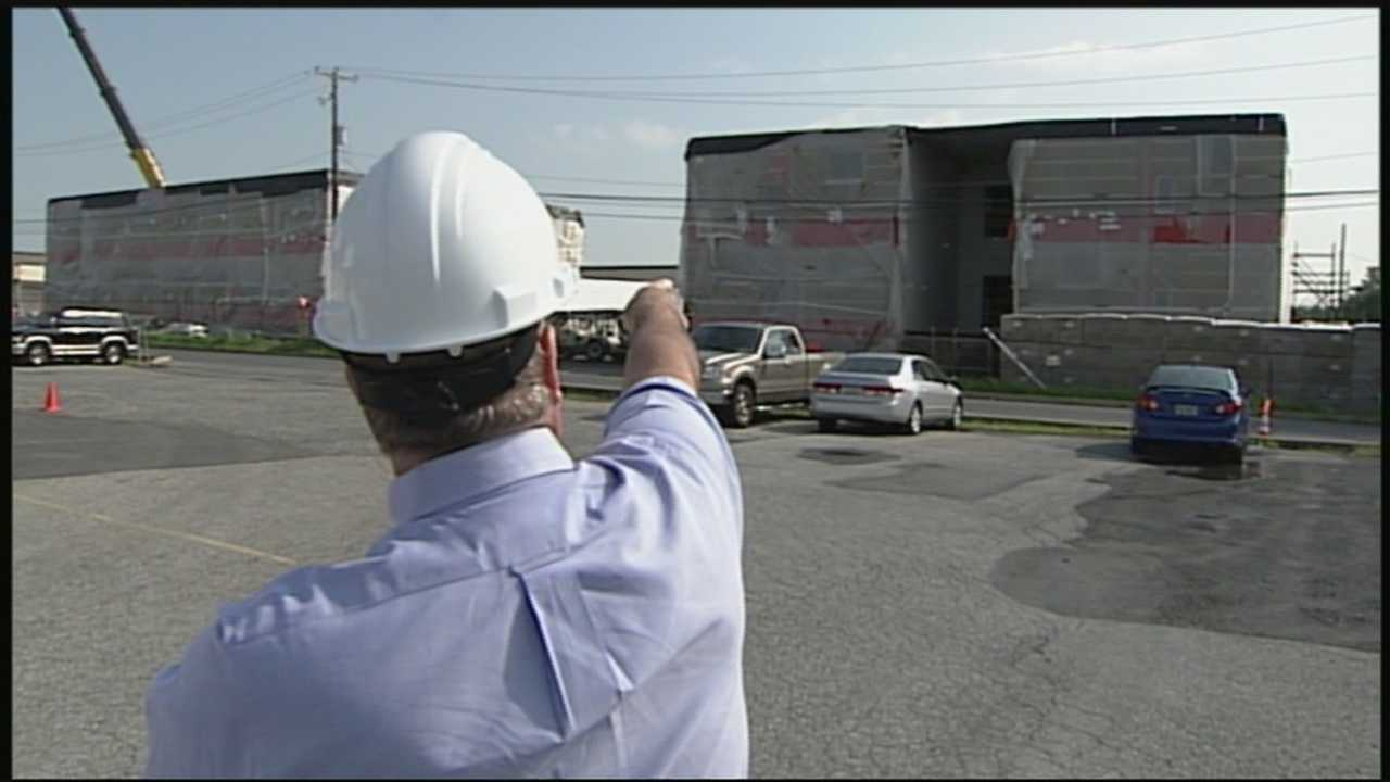 News 8 Today 7.21.14 Six-story Brooklyn school being built in Ephrata