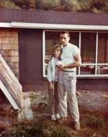 A throwback photo of Kim and her dad.