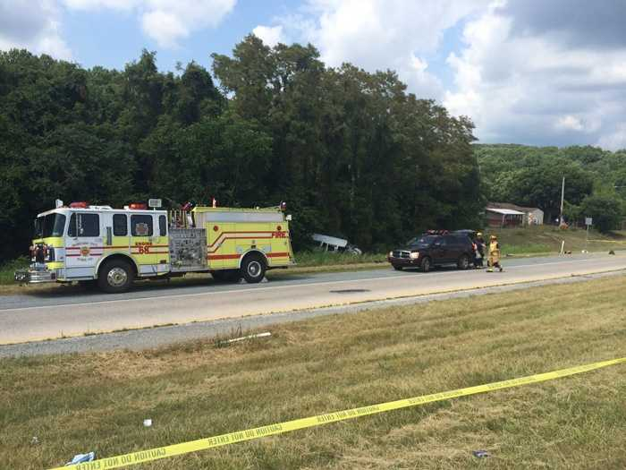 Passengers Jerry Eady, 36, and Jack Mason III, 52, were ejected and died at the scene.