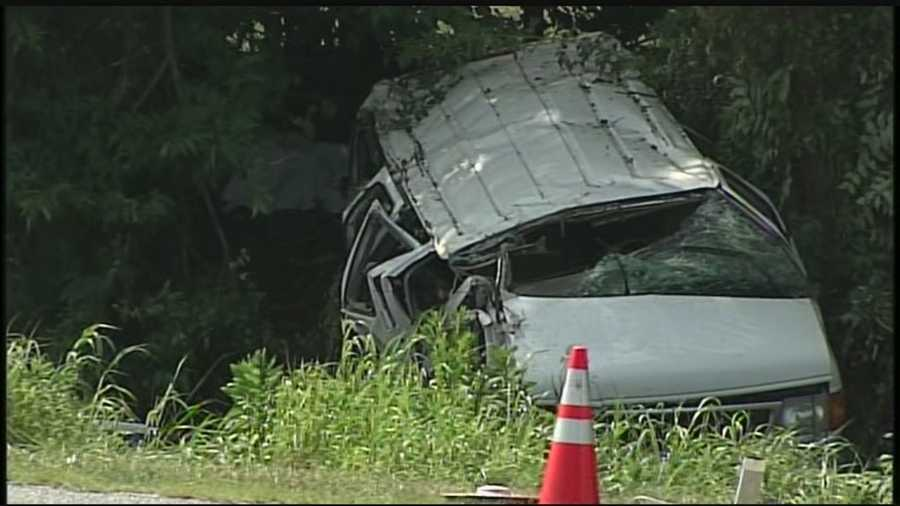 Two York County men were killed in a crash Tuesday afternoon on Route 30 at the Hellam Exit.