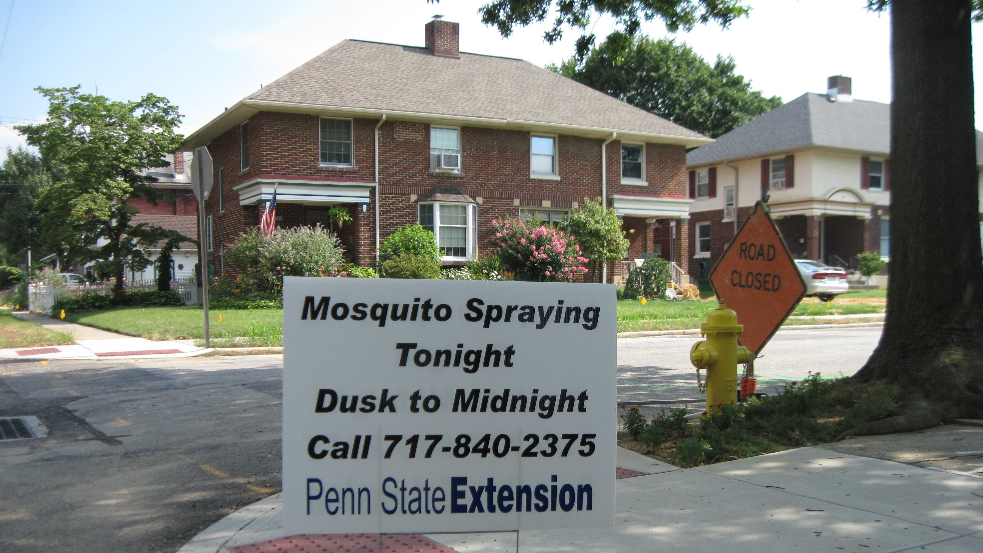 7.26.14Mosquito Spray Sign