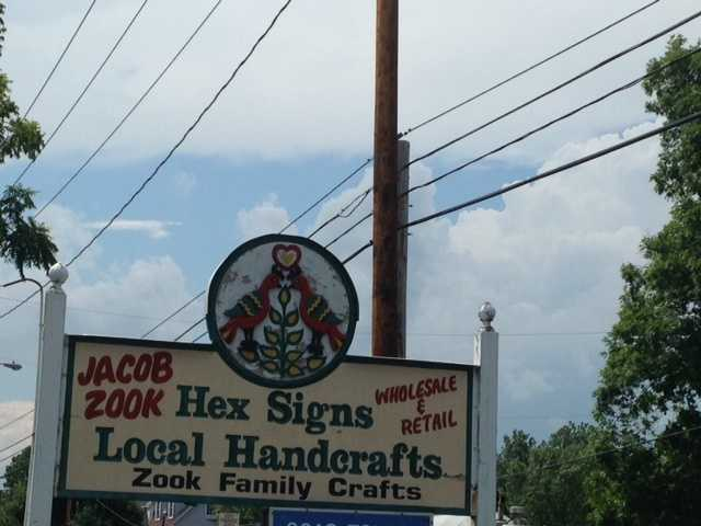 The Jacob Zook Hex Signs business in Lancaster County is now closed.
