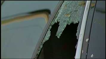 """News 8 spoke to a resident whose car windows were shot out.""""I thought they targeted this car because it's an ex-police car and somebody wanted to vandalize this car. But then when I heard there was so many other victims, they just shot it because it's close to the road, easy target,"""" said Dan Kelly of West Hanover Township."""