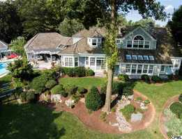 Location: 105 Greenview Lane, Lebanon, PAFrom the beautiful pool to the ample indoor space, this estate has it all! The home includes four bedrooms, five bathrooms, over 4,900 sq ft of living space and is featured on realtor.com.