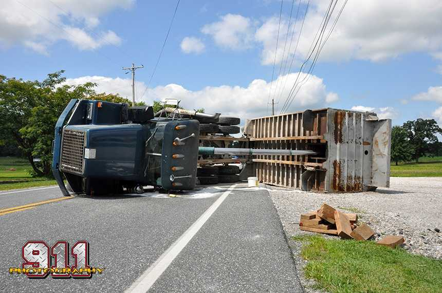 Reading Twp. police responded to a crash on Route 94 in Adams County on Monday.