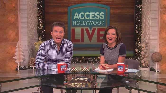 What are Billy Bush and Kit Hoover so excited about?