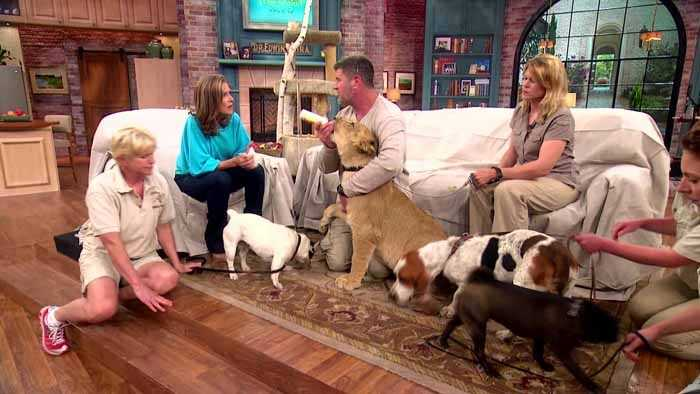 One thing for sure, Meredith will have interesting guests, even the four-legged kind.