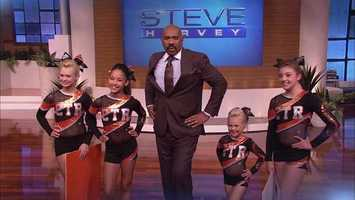 He's a big guy who knows how to live big and enjoy life, Steve Harvey!