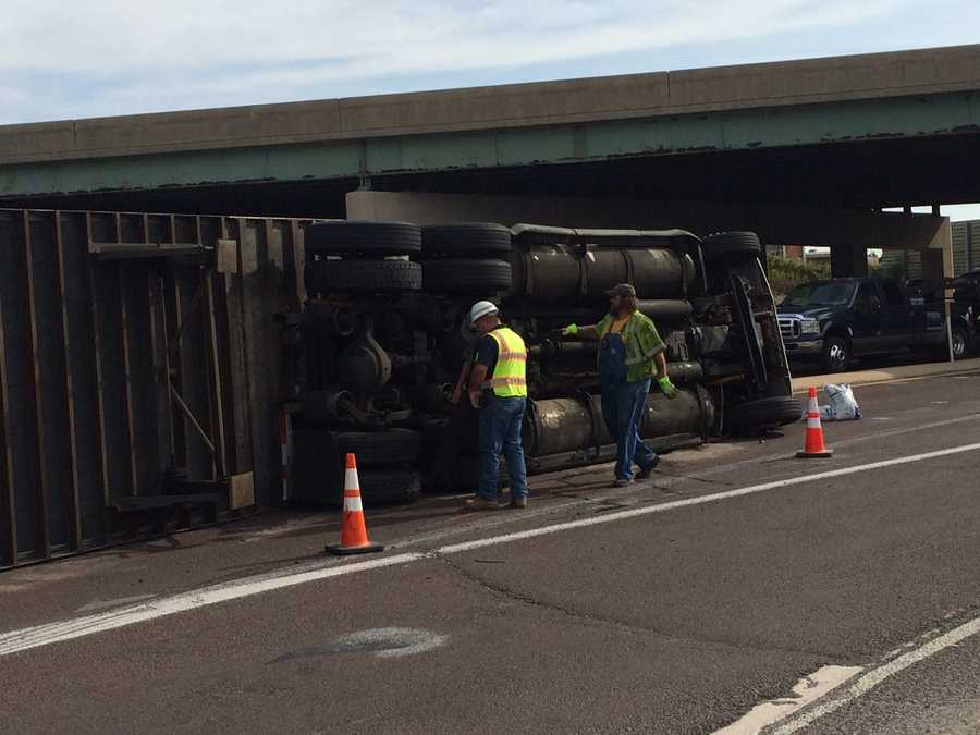 Another crash in York County also caused slow-downs on Route 30 Monday around 8:40 a.m.