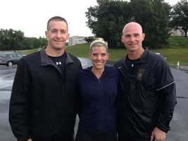 Katelyn Smith was with state police on Tuesday, taking the same fitness test that applicants must take.