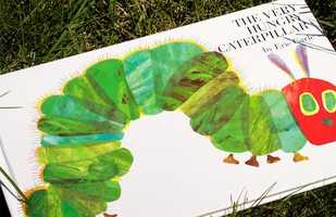 8. The Very Hungry Caterpillar by Eric Carle