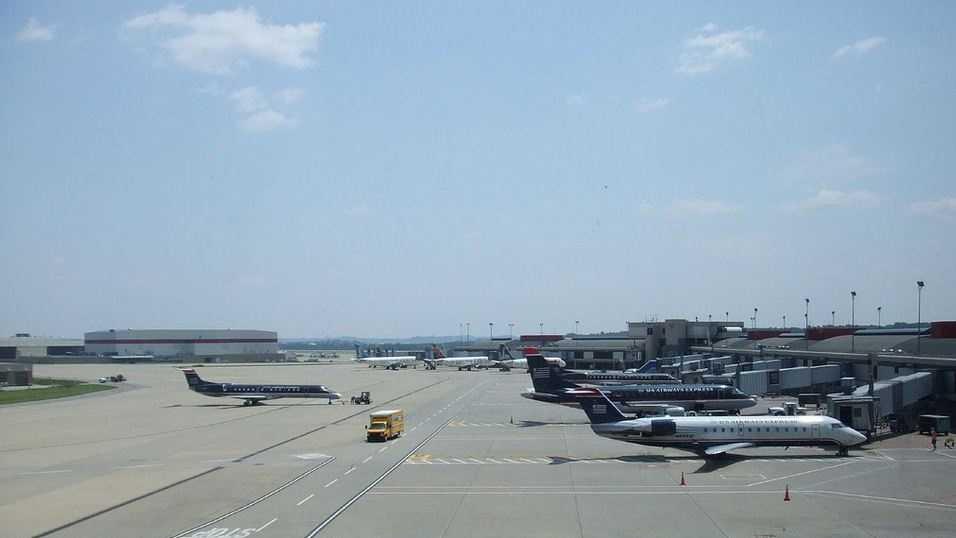 Pittsburgh International Airport.