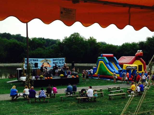The event featured music, crafts and games for kids.