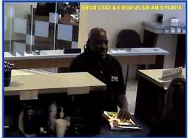 Police are investigating a bank robbery in West Manchester Township.