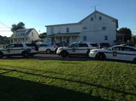 Troopers from the Newport Barracks on scene of a suspicious death inOliver Township, Perry County.