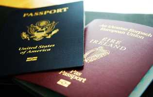 Passports are a solid source of identification.