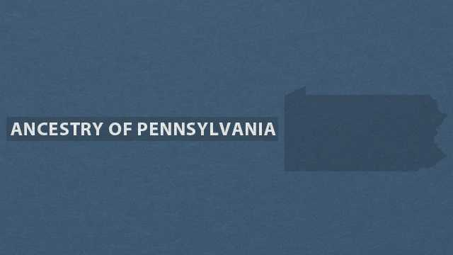 Take a closer look at the breakdown of ancestries in Pennsylvania in this slideshow based on data from the U.S. Census Bureau American Community Survey.