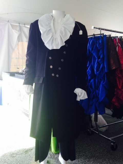 Hustle & Bustle also designs attire for Steampunk men.