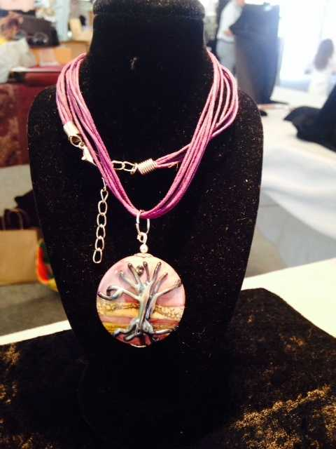 Handmade jewelry by Beaded Chic.