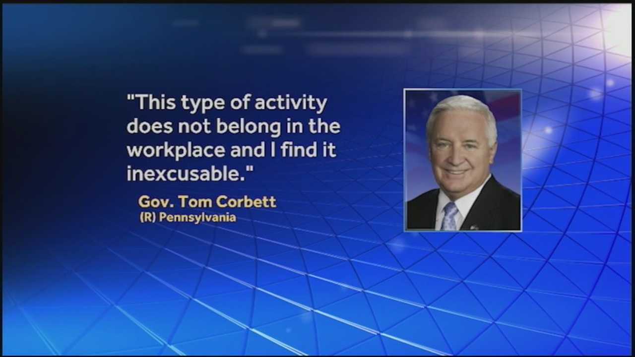"In the wake of what's being called Pennsylvania's ""porngate"" scandal, two people have resigned."