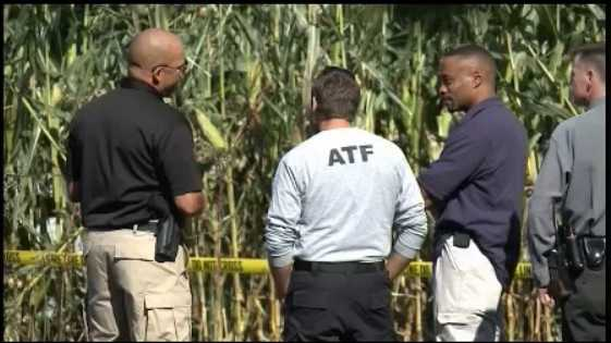 The federal ATF is helping to investigate an explosion that injured two people at a garage near Maytown, Lancaster County.
