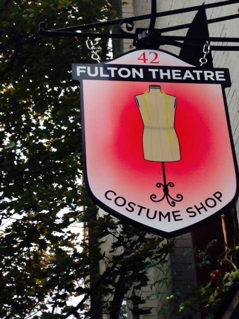 Located on a small Lancaster City street, an old warehouse, slightly hidden by trees, is full of Fulton Theatre history. Click through to see what's behind the doors of the Fulton Theatre Costume Shop.