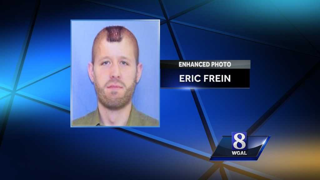 Wednesday, October 8, 2014: State police read excerpts from a journal, allegedly written by Frein, that details the night two state troopers were ambushed. They also release this rendering of what he may look like now.