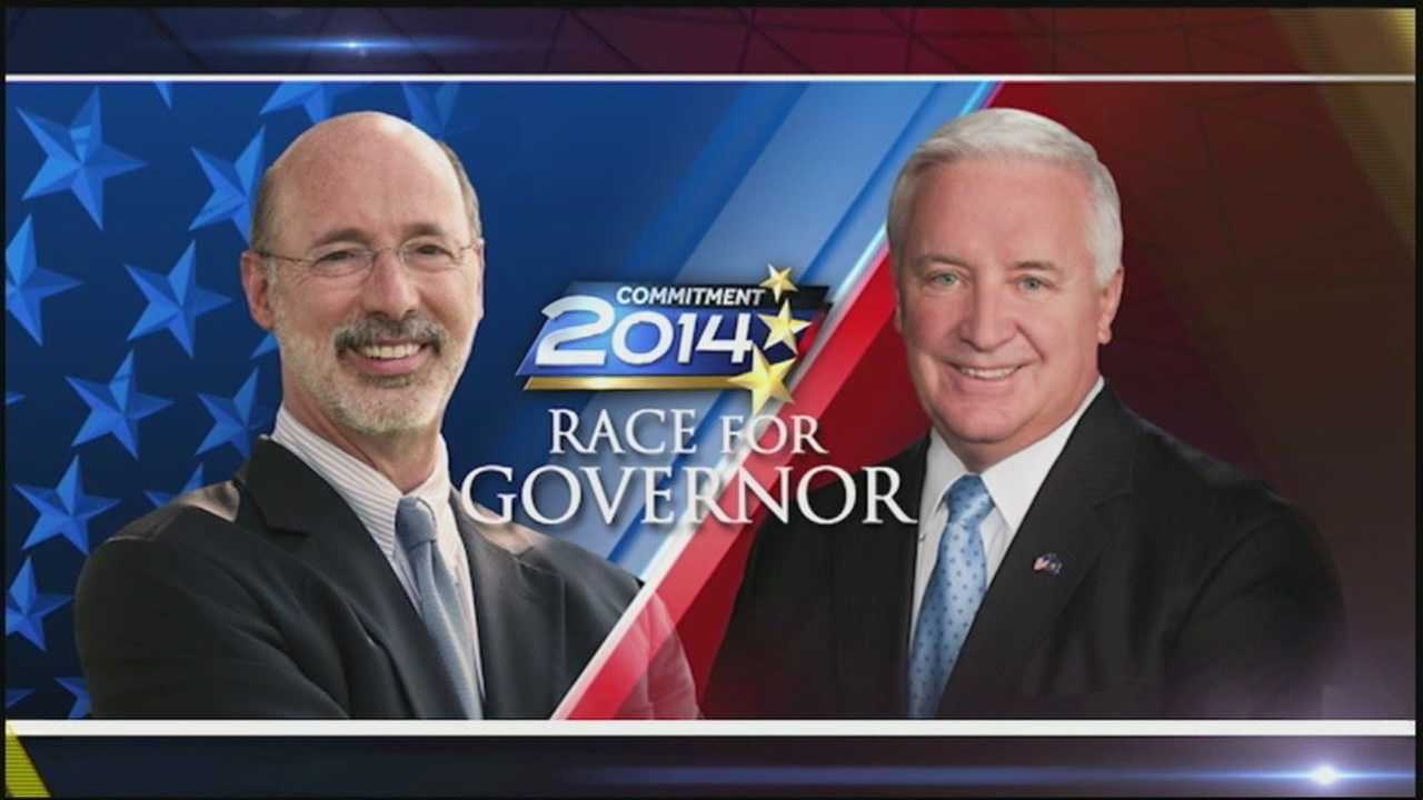 The candidates for Pennsylvania governor went head-to-head for the last time in Pittsburgh Wednesday night.