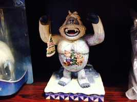 """Fisher says the Bigfoot legend has inspired animated characters like """"Bumble, the Abominable Monster."""""""